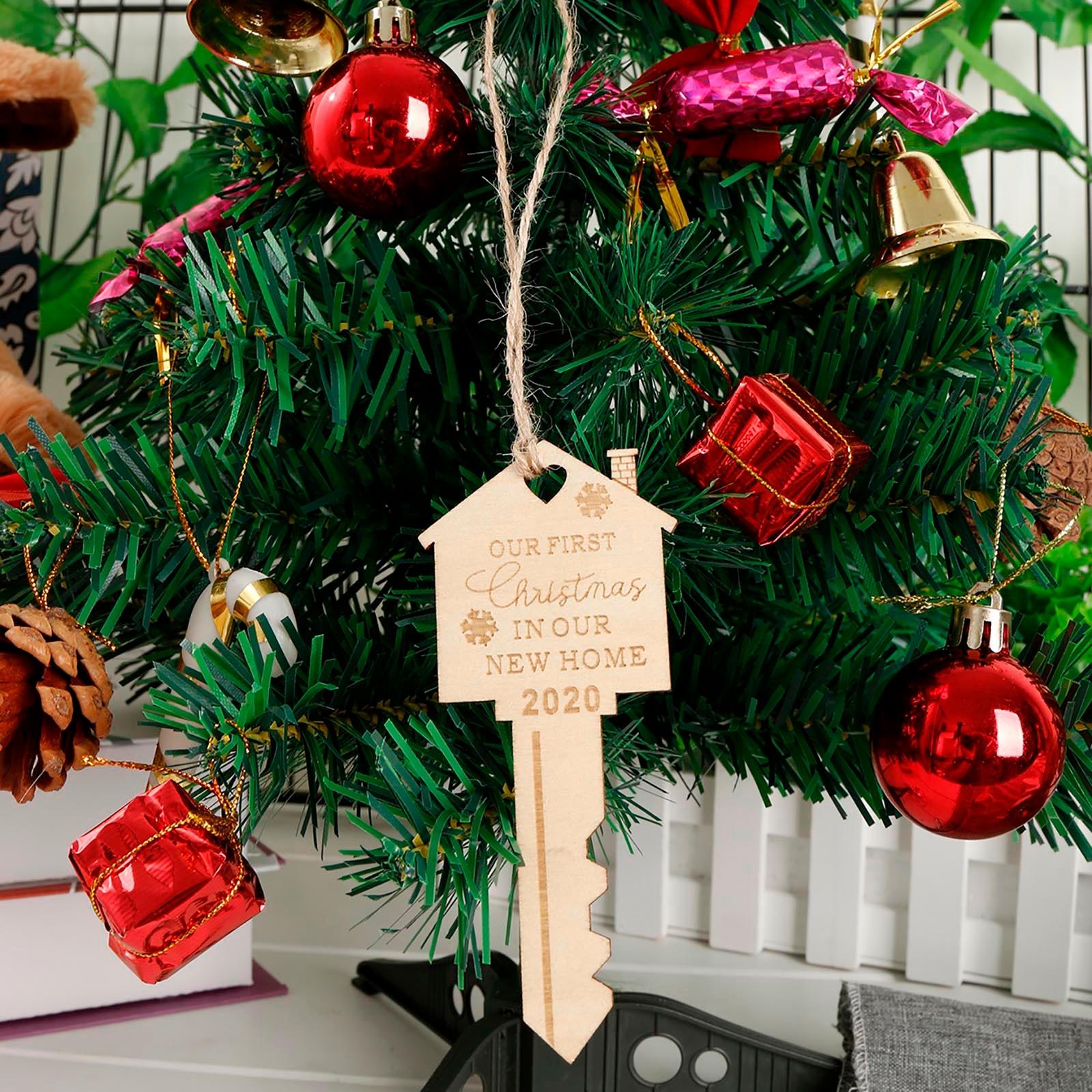 Рождественская елка кулон украшения первый Рождественский кулон среди новых домашних украшений в 2020 орнамент Рождественский кулон # W3