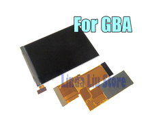 OEM 10 مستويات عالية السطوع IPS الخلفية LCD لوحدة التحكم نينتندو GBA الخلفية شاشة LCD لوحدة التحكم GBA سطوع قابل للتعديل