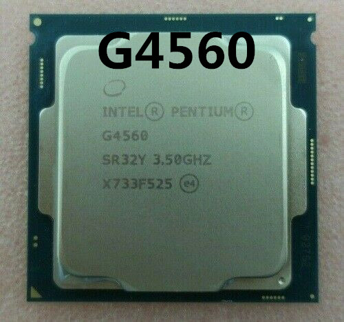 Intel Pentium Processor G4560 G4560 LGA 1151-land FC-LGA 14 Nanometers Dual-Core Properly Desktop Processor 100% Working