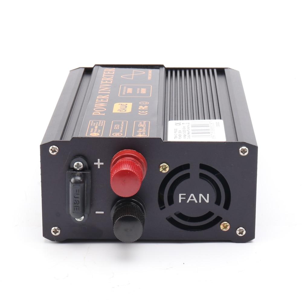 Best CE approve inverter 24v 220v pure wave peak 600W sustain 300W inverter pure sine wave 60hz Converter 12v to 220v LED show
