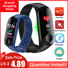 M3 Plus Smart Wristband Bracelet Fitness Tracker M3plus Band Heart Rate Activity Sport Watch
