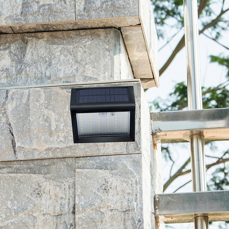 Top-Upgraded 38 LED Solar Power PIR Motion Sensor Wall Light Outdoor Waterproof Garden Lamp For Lawn Patio Yard Walkway