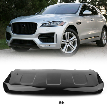Car Front Bumper Skid Plate Cover Protector Lower Guard For Jaguar F-Pace R-Sport 2016 2017 2018 2019 2020 ABS Plastic