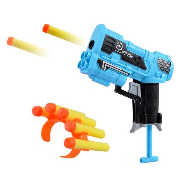Viciviya Kids Toys Soft EVA Bullet Toy Gun for Nerf N-Strike Bullet Darts Round Head Blasters EP Children Educational Toys GunsOutdoor Fun & Sports