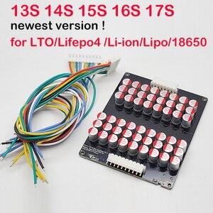 Image 1 - 15S 16S 17S 6A balans aktywny wyrównywacz Lifepo4 LFP litowo jonowy litowo jonowy LTO bateria litowa Transfer energii BMS 48V 60V 1A 3A 5A