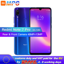 New Xiaomi Redmi Note 7 Pro 6GB RAM 128GB ROM Mobilephone Snapdragon 675 Octa Core 4000mAh 6.3 Water Drop Full Screen 48 13MP