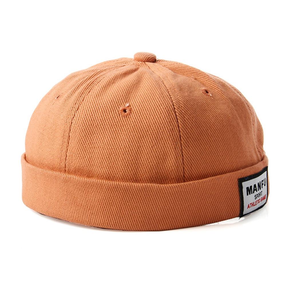 Children  Summer Cotton Brimless Skullies Cap Vintage Urban Unique Street Portable Docker Hats Multipurpose Miki Beanie Hat