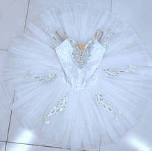 Professional Tutu White Women Pancake White Swan Ballet Tutus stage Performance pancake Tutu Ballet Costume Adults adult professional ballet tutu costume white coppelia competition performance pancake tutu classical ballet stage costume