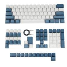 Pbt keycaps retroiluminado cereja mx keycap conjunto duplo perfil oem para eua reino unido 61 68 84 87 104 108 mx switches teclado mecânico