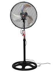 INDUSTRIAL stand fan rotating 115W 3 speeds 18 ''inch warrenty