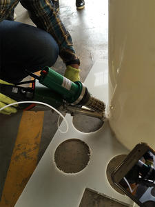 Extrusion-Welder Thermoplastics Welding-Of-Geomembranes for Production And Rigid SWT-NS610A