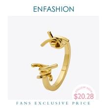 Enfashionジュエリーいばら有刺鉄線ブレスレットnoeud腕章ゴールドカラーバングルブレスレット女性のためのブレスレットマンシェット腕輪