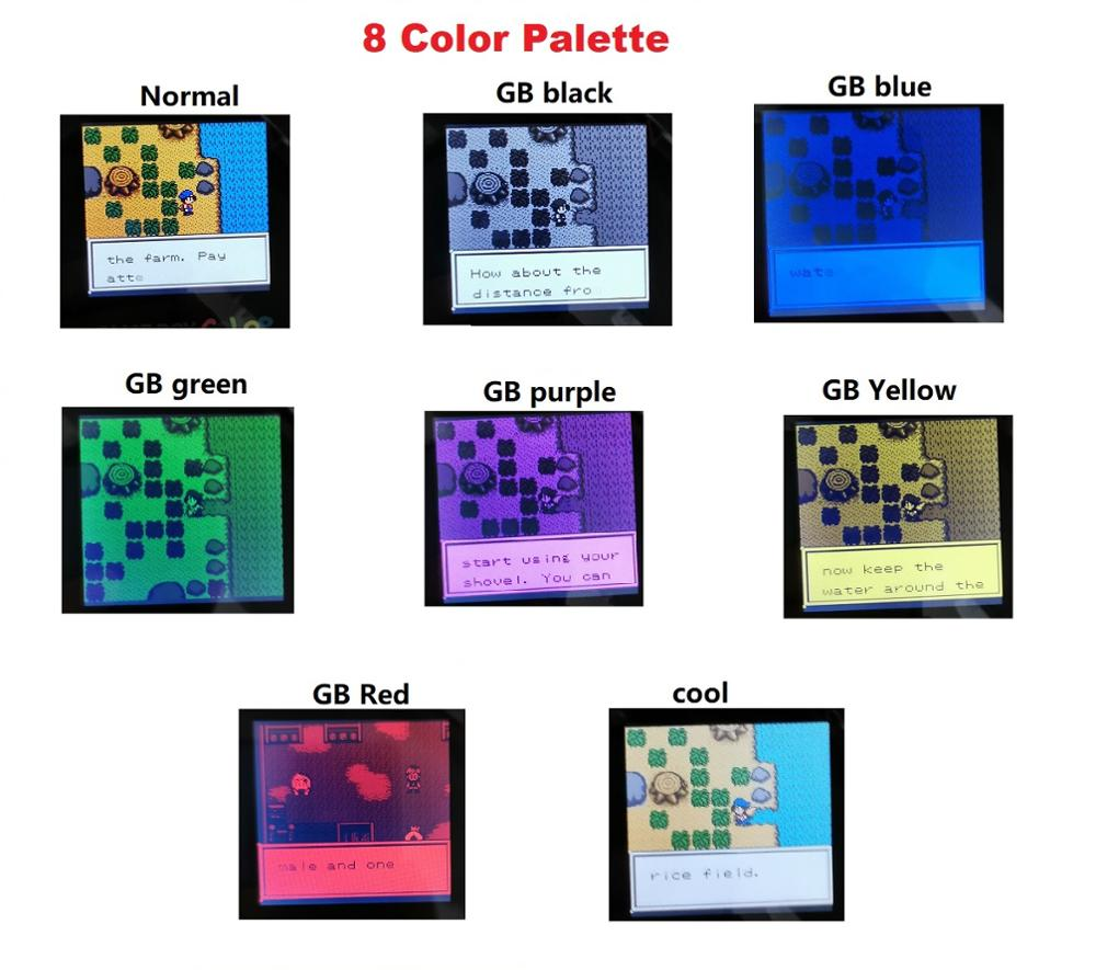 Cool Dmg Palette To Play Pokemon In