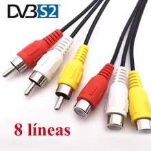 GTmedia- de TV europa v7... DVB-S2 líneas de España compatible con GTmedia V8 Nova V7S V9 Freesat V7 calzado