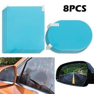 Protective-Film Car-Rearview-Mirror Auto-Accessories Rain-Window Clear Anti-Fog