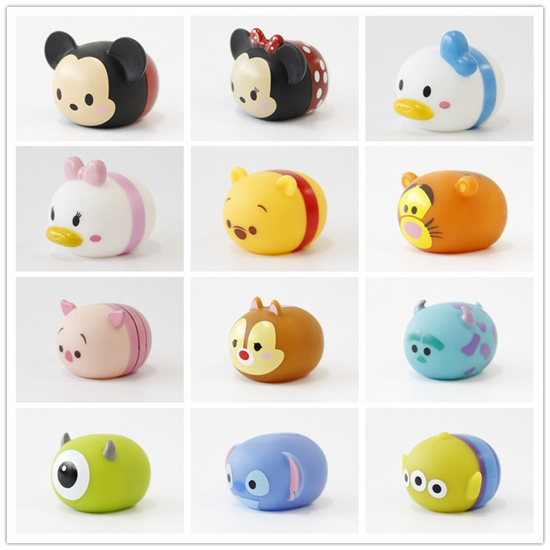 Creative Cartoon Enameled Doll Toy TSUM Overlapping  Children's Water BB Called Doll Key-button Accessories Doll