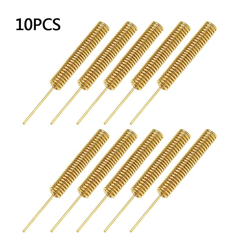 10/PCS 433MHZ 2.2dBi 35mm Helical Antenna For A-rduino Remote Control Controller Antennas Welding Internal Aerial Sign