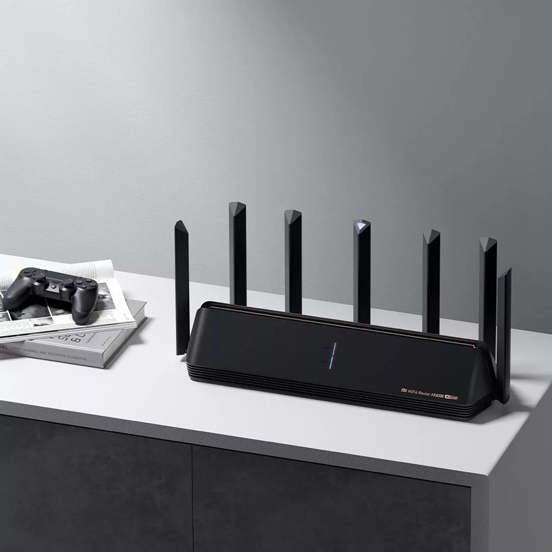 New Xiaomi Router AX6000 AIoT Router 6000Mbs WiFi6 VPN 512MB Qualcomm CPU Mesh Repeater External Signal Network Amplifier M 5