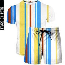 Simple Stripes T Shirt Suit Punk T shirt Knight Shirts 3D T Shirt Men Casual Vintage Hip Hop Summer Tee Top Homme Clothes