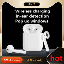 Airpoddings 2 pro Wireless Earphone Bluetooth Headphones HiFi Stereo Earbuds Sport Headset PK i12 i90000 max 3 i9s i500 i9000