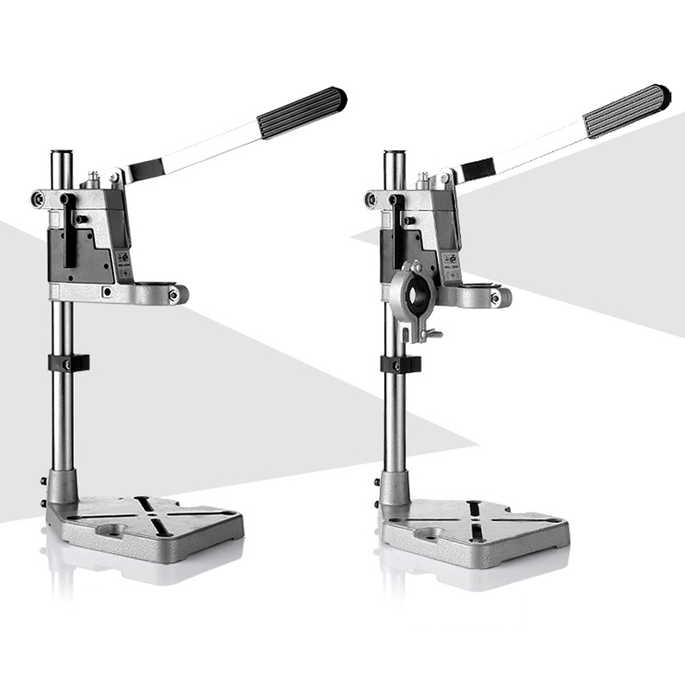 Image 1 - Power Tools Accessories Bench Drill Press Stand Clamp Base Frame for Electric Drills DIY Tool Press Hand Drill Holder Power sets-in Power Tool Accessories from Tools