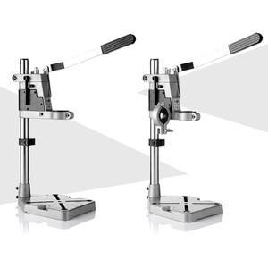 Image 1 - Power Werkzeuge Zubehör Bench Bohrmaschine Stand Clamp Basis Rahmen für Elektrische Bohrer DIY Werkzeug Presse Hand Bohrer Halter Power sets