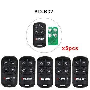 Image 1 - 5 sztuk/partia KEYDIY KD B31 B32 4 przyciski ogólne drzwi garażowe zdalnego dla KD900 URG200 KD X2/KD MINI KD200 MINI...