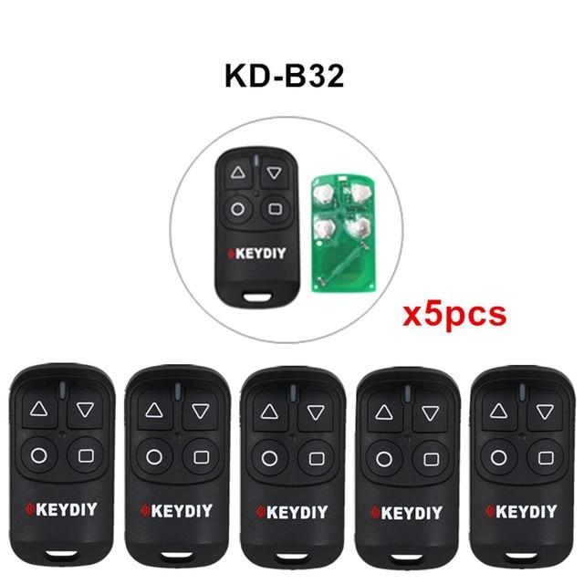 5 sztuk/partia KEYDIY KD B31 B32 4 przyciski ogólne drzwi garażowe zdalnego dla KD900 URG200 KD X2/KD MINI KD200 MINI...