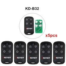 5pcs/lot KEYDIY KD B31 B32 4 Buttons General Garage Door Remote for KD900 URG200 KD X2/KD MINI KD200 MINI Remote Generater