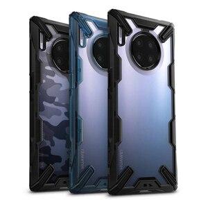 Image 1 - Ringke Fusion X Voor Huawei Mate 30 Pro Case Dual Layer Heavy Duty Drop Bescherming Pc Clear Back Cover En zachte Tpu Frame Hybrid