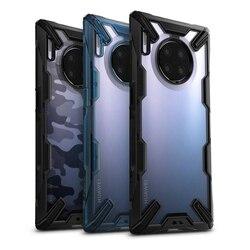 Ringke Fusion X dla Huawei Mate 30 Pro Case podwójna warstwa Heavy Duty ochrona przed upadkiem PC przezroczysta tylna pokrywa i miękka ramka z tpu Hybrid