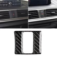 Autocollant lumineux d'avertissement en Fiber de carbone, pour conduite à gauche ou à droite, pour Mazda 3 Axela, 80%