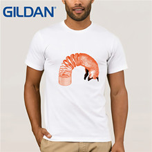 SPRING  fox Clothes Popular T-Shirt Crewneck 100% Cotton Tees Funny Tops T Shirt