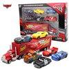 7 יח'\סט דיסני פיקסאר רכב 3 ברקים m/c/מלכת ג 'קסון סטורם מאק משאית 1:55 Diecast מתכת רכב דגם צעצוע ילד חג המולד מתנה