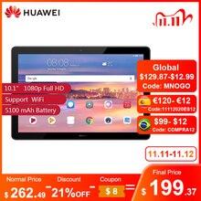 """Original HUAWEI MediaPad T5 10.1"""" 1080p Full HD Vivid Display 4GB 64GB Kirin 659 5100 mAh Global Version AGS2 L09"""
