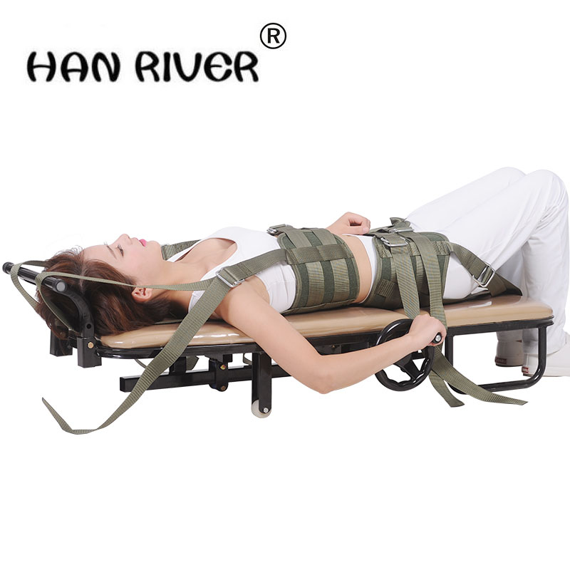High Quality Household Neck Lumbar Herniation Of Cervical Vertebra Tractor Traction Bed Body Tractor Folding Hot Selling