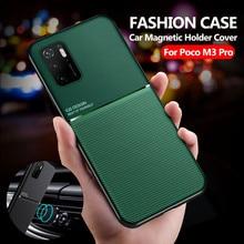 Per Xiaomi Poco M3 Pro custodia supporto magnetico per auto Cover per telefono Xiaomi Mi Pocom3 Poko Poko Poxo Little Pocophone M 3 3M Pro 5G Coque