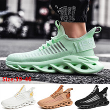 Men Sneakers Fashion Sport Casual Shoes Mesh Breathable Cushion Running Shoes