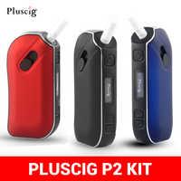 Vape Puscig P2 набор, подходит для IQO, табака, сухой травы, E Papieros Box Mod 1300 мАч, аккумулятор, пригодный для Heets Caliburn Elektronik Nargile