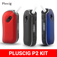 Vape Puscig P2 Kit Fit IQO Tobacco Dry Herb E Papieros Box Mod 1300mah Battery F