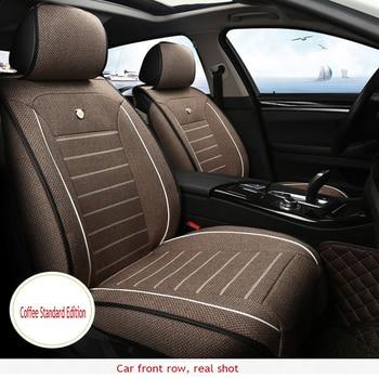 ZRCGL Universal Flx Car Seat covers for Cadillac all models SRX CTS Escalade ATS SLS CT6 XT5 CT6 ATSL XTS car styling acc