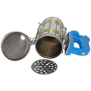 Image 5 - Kit eléctrico de transmisión de humo de abeja de acero inoxidable, gran oferta, herramienta de apicultura, ahumador de abejas
