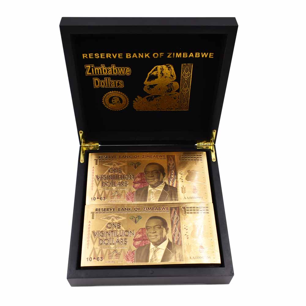 8pcs Russian Gold Banknote Collectible Gold Foil Paper Money Art Ornament Gifts