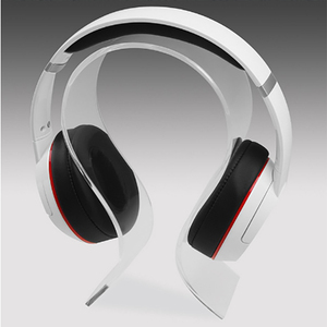 Image 2 - New Fashion Simple Gaming Cradle Acrylic Headset Stand Multifunctional Headphone Holder Bracket Display For Headphone