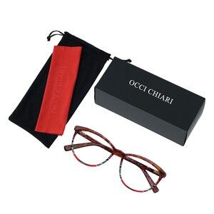 Image 5 - OCCI CHIARI איטליה עיצוב משקפיים נשים מסגרת משקפי מסגרת משקפיים Oculos סהרוני Gafas דמי צבע מתנה W CORSO