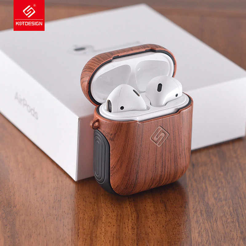 Case For AirPods 1 Silicon Leather Earphones Cover Accessories Protective Headphone Cover For Apple AirPod Case Cover