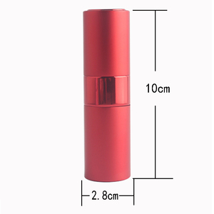 Image 2 - Mini 15ML Portable Spray Bottle Refillable Empty Perfume Atomizer Spray Bottles Travel Accessories Scent Pump Cosmetic Container