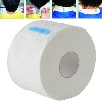 1 Roll Disposable Neck Ruffle Roll Paper Professional Hair Cutting Salon Hairdressing Collar Accessory Necks Covering