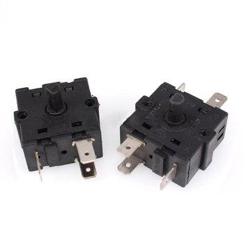 10 Uds accesorios de calefacción eléctrica interruptor perilla interruptor termostato interruptor de cambio rotatorio 3 pies 5 pies interruptor de perilla 16A250V