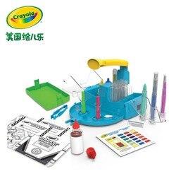 Америка Crayola креативный DIY шариковая ручка Волшебная станция 74-7054